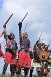 Barbarians. Stock Photo