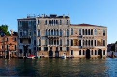 Barbarigo van morosinie palazzo van Palazzoda mula, Venetië, Italië Royalty-vrije Stock Fotografie