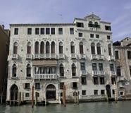 barbaro palazzo kanałowy grande Venice Obraz Stock
