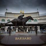 Barbaro Statue an Flugsteig 1 Lizenzfreie Stockfotografie