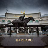 Barbaro Statue at Gate 1 Royalty Free Stock Photography