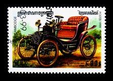 Barbarou 1898,葡萄酒汽车serie,大约1999年 库存图片