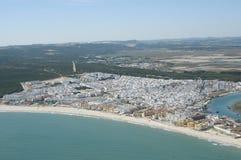Barbate diz Испания ¡ CÃ стоковые фотографии rf