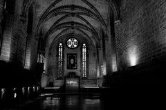 Barbazan chapel at Pamplonas cathedral Royalty Free Stock Image