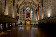 Barbazan chapel at Pamplonas cathedral Royalty Free Stock Photos