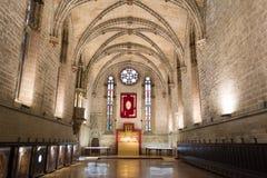 Barbazan chapel at Pamplonas cathedral Stock Photography