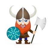 Barbe de rouge de Viking illustration libre de droits