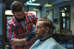 Barbearia imagem de stock
