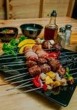 barbecue мясо Стоковая Фотография RF