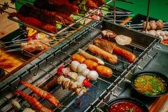 barbecue мясо Стоковое Изображение RF