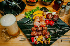 barbecue мясо Стоковые Изображения