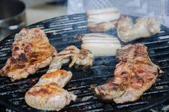 barbecue подготовлять Стоковое Фото