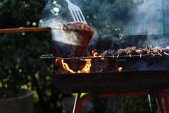 Barbecue Stock Afbeeldingen