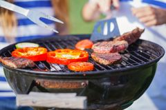 Barbecue. royalty-vrije stock fotografie