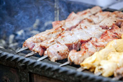 Barbecue Royalty-vrije Stock Afbeelding