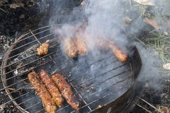 Barbecue Stock Foto