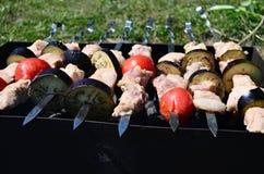 barbecue Fotografie Stock Libere da Diritti