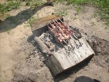 Barbecue Royalty-vrije Stock Foto