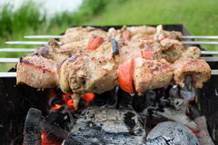 barbecue fotografia stock libera da diritti