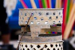 Barbecue africain de brasero Images libres de droits