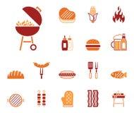 Barbecue & alimento - Iconset - icone royalty illustrazione gratis