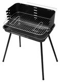 Barbecue appliance. Black barbecue appliance isolated on white background Royalty Free Stock Images