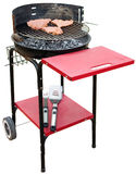 Barbecue appliance isolated Stock Images