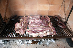 Barbecue from Argentina Stock Photo
