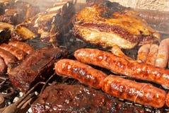 Barbecue argentino Fotografia Stock Libera da Diritti