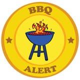 barbecue attento Fotografie Stock Libere da Diritti