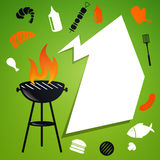 Barbecue Background Royalty Free Stock Images