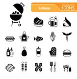 Barbecue & Food - Iconset Icons. Barbecue royalty free illustration