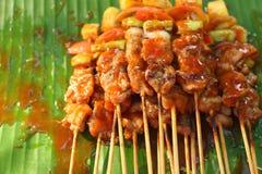 Barbecue of BBQ grill van vlees stock afbeelding