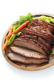 Barbecue beef brisket Royalty Free Stock Image