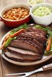 Barbecue beef brisket Royalty Free Stock Photos