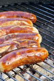 Barbecue bratwurst Royalty Free Stock Photo