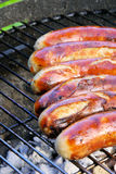 Barbecue bratwurst Stock Photography
