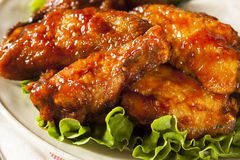 Barbecue Buffalo Chicken Wings Royalty Free Stock Image