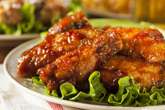 Barbecue Buffalo Chicken Wings Royalty Free Stock Images