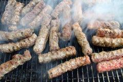 Barbecue-Cevapcici Стоковая Фотография