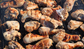 Barbecue chicken Royalty Free Stock Photos