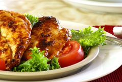 Barbecue Chicken Stock Photos