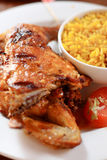 Barbecue chicken Royalty Free Stock Images