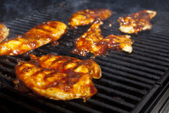 Barbecue Chicken Royalty Free Stock Photography