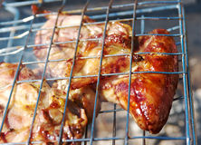 Barbecue.chicken Stock Image