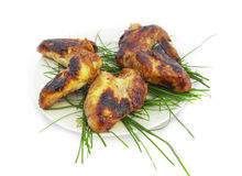 Barbecue from chicken hips Royalty Free Stock Photography