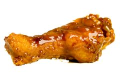 Barbecue Chicken Wing Royalty Free Stock Photography