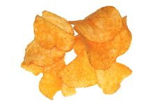 Barbecue chips Royalty Free Stock Photography