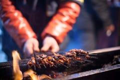 Barbecue cinese Immagini Stock