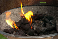 Barbecue Coals - 1 Royalty Free Stock Photography